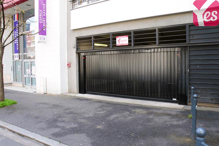 location garage parking vanves 20m 77 mois sur le